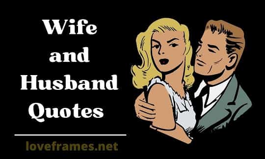 151 Wife and Husband Quotes to Understand Each other Wisely